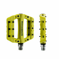 ROCKBROS MTB Road Bike Bicycle Bearing Wide Nylon Pedals Green UK STOCK