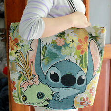 Cool disney lilo&stitch canvas shoulder bag womans ladys tote big shopper bags