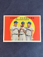1959 Topps Baseball Cubs Clubbers #147 Ernie Banks ~ Chicago Cubs