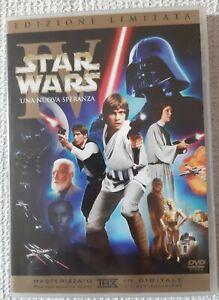 DVD Star Wars Una Nuova Speranza Edizione Limitata