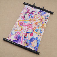 Japanse Anime Sailor Moon Crystal Hanging Wall Scroll Poster Decor Fans Gift 1Pc
