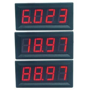 Mini Digital 0.56inch LED Display Ammeter Panel Amp Current Meter Tester UK