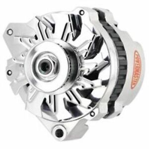 Powermasters 674611 Alternator CS130 140Amp Left Offset For Chevy GMC Pontiac