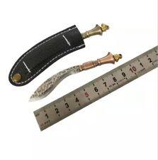 HANDMADE MIni Pocket knife Tactical Fixed Knives Camping Outdoor EDC Tools