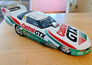 """Action """"JOHN FORCE"""" 1997 Pontiac Funny Car 1/24 Nice!"""