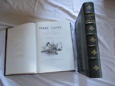 la terre sainte son histoire 1er et 2em partie , v guerin , plon nourrit , 1884
