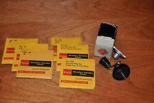 BOLEX 16MM MOVIE CAMERA Filter set Holders, Gelatin Filters & Accessories
