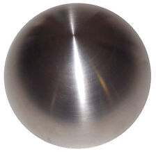 Brushed Stainless Steel Heavy Weight Shift Knob 7/16-20 thread U.S. Made