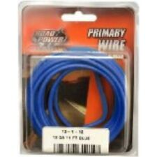 Coleman Cable 55671633 12 Gauge Automotive Copper Wire, Blue, 11'