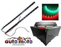 Navigation Light Strip 2 Pcs Red Green LED Bulb 12V Waterproof Boat Marine Mast