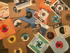 "Lot of 50-70s Rock Pop Soul Jazz (16) Records 7"" Single 45 rpm Jukebox w/ Sleeve"