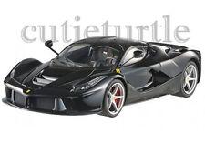 Hot wheels Elite Ferrari LaFerrari 2014 New Enzo 1:18 Limited BCT80 Black