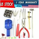 16 Pcs Jewelry Repair Set Kit Watch Wristwatch Battery Changer Link Remover Tool