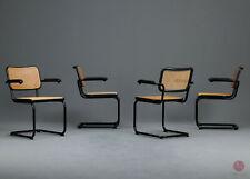 Thonet S64 Freischwinger Bauhaus Klassiker Stuhl Schwarz Breuer Chair cantilever