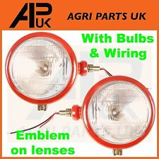 David Brown 770 780 880 885 890 950 990 Tractor Headlight Head lamp Light PAIR
