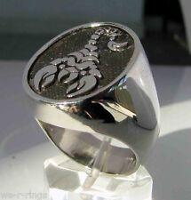 Sterling Silver .925 SCORPION Zodiac Ring RG0133/S