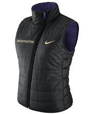Nike Women's Washington Huskies Reversible Full-Zip Vest (M) Retail $110