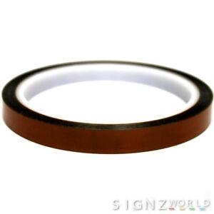 10mm (Width) Heat Resistant Tape Mug heat Press Sublimation Sticky Polyamide