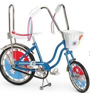 New American Girl Julie BANANA SEAT BIKE bicycle NRFB