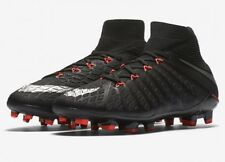 Nike JR Hypervenom Phantom 3 DF FG Black Size 4.5Y Youth (882087-001) MSRP $175