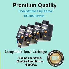 4 x Color Toner Compatible for  Fuji Xerox CP105 CP105B CP205 CM215FW CP215W