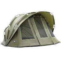 Lucx® BOBCAT 2 Mann Bivvy Angel Zelt Karpfenzelt Carp Dome Fishing Tent