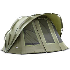 "Lucx® Bivvy ""Bobcat"" 2 Mann Bivvy Angel Zelt Karpfenzelt Carp Dome Fishing Tent"