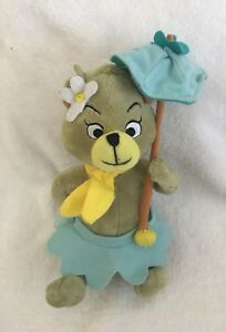 YOGI BEAR Girl CINDY Hanna BARBERA 8 Inch Skirt Umbrella Collectible