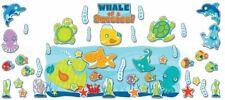 Seaside Splash bulletin board set Carson Dellosa ocean fish pets animals beach