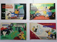 Lote 4 historietas De Patoruzú Cómic argentino Colección