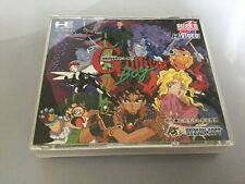 GULLIVER Boy PC ENGINE SUPER CD JP GIAPPONE IN SCATOLA CON SPINECARD BUONE COND