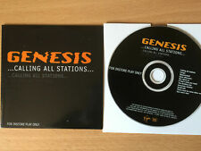 """GENESIS-""""CALLING ALL STATIONS""""-RARE VIRGIN PROMO ONLY CD 1997-GENCDP6-BRAND NEW"""