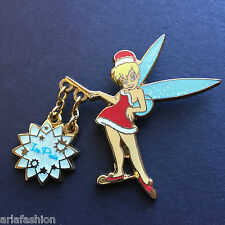 Tinker Bell - Holiday - Ice Pixie Dangle Disney Pin 42862