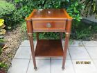 VINTAGE ETHAN ALLEN ACCENT TABLE WITH DRAWER #IPI38165 5513 PLT:9796 12/30/05