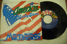 "MARMALADE""AMERICA/LADY JANE-disco 45 giri OUT Italy 1981 """