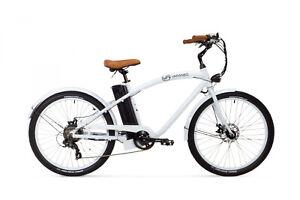 Varaneo E Bike Beachcruiser 250W 25 km/h 374 Wh Weiß Pedelec Aluminium Rahmen