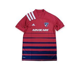 FC Dallas 2020 Home Replica Blank Jersey Men's Adidas Red