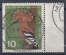 Bund BRD FRG Germany Mi. Nr. 401 Jahr year 1963 Gestempelt Used Randstück