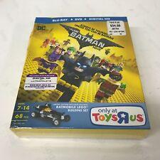 New LEGO Batman Movie (Blu-ray+DVD+Digital) 2017; Only at Toys R Us Batmobile