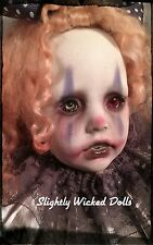 Tatyanna by Slightly Wicked Dolls, OOAK Creepy Horror Doll