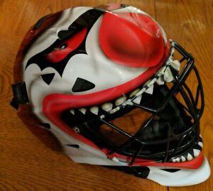 Custom Painted Itech 1200 Senior Goalie Mask
