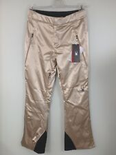 Spyder #26357 Kaleidoscope Tailored Ski Alpin Snowboard Hose Damen Gr. 38 Gold