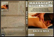 Masaje espalda y cuello de curso DVD de entrenamiento con Bono Gratis eliminar & aliviar el dolor