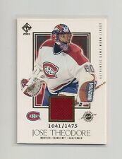 2002-03 Pacific Private Stock Reserve Game Used Jersey #127 Jose Theodore/1475
