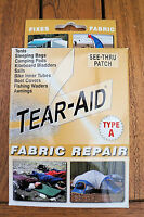 TEAR AID TYPE A - FREE POST AUSTRALIA WIDE  Canvas, Swag, Tent, Annex Repair Kit