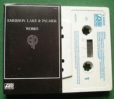 Emerson Lake & Palmer Works Volume 1 Cassette Tape - TESTED