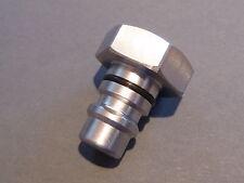 Adaptermutter M8 Schlüsselweite 19mm für verschieden Motorsägen  Ablänghilfe