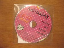 "AXEL LOUGHREY ""Love Thing E.P."" - 4 track PROMO CD [ jade pretending high lows ]"