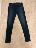 AG (Adriano Goldschmeid) Denim Jeans - The Farrah High Rise Skinny Jean size 27R