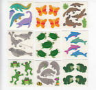 Vintage Sandylion Fuzzy Frog Dolphin Seal Manatee Platypus Stickers - You Choose